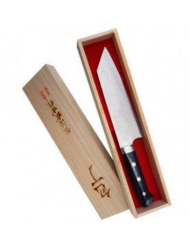 Takeshi Saji Blue Steel Nóż Bunka ręcznie kuty 17 cm