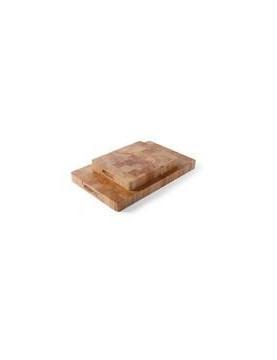 Deska z drewna bukowego klejonego 265x325x(h)45mm