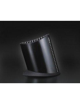 Blok na 9 noży w kształcie żaglowca – czarny | Global