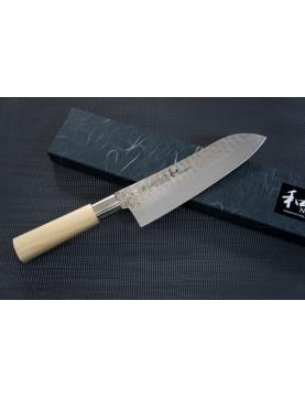 Nagomi Shiro Nóż Santoku 18,5cm
