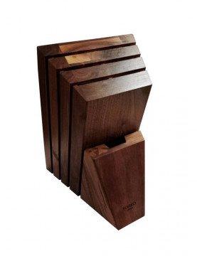 drewniany blok na noże Tojiro