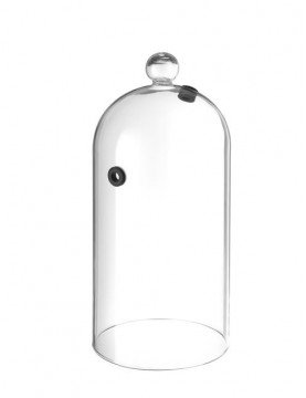 kopułka szklana z otworem...